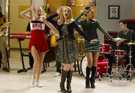 Glee Star Dianna Agron Will Return for 100th Episode