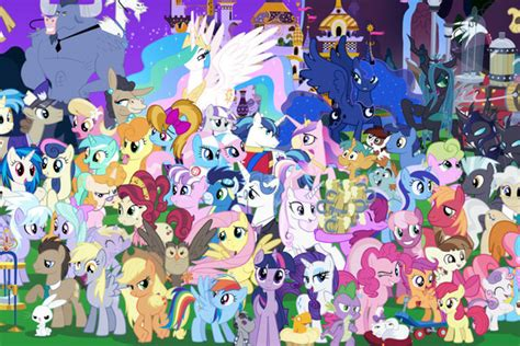 How Many 'My Little Pony' Characters Can You Name