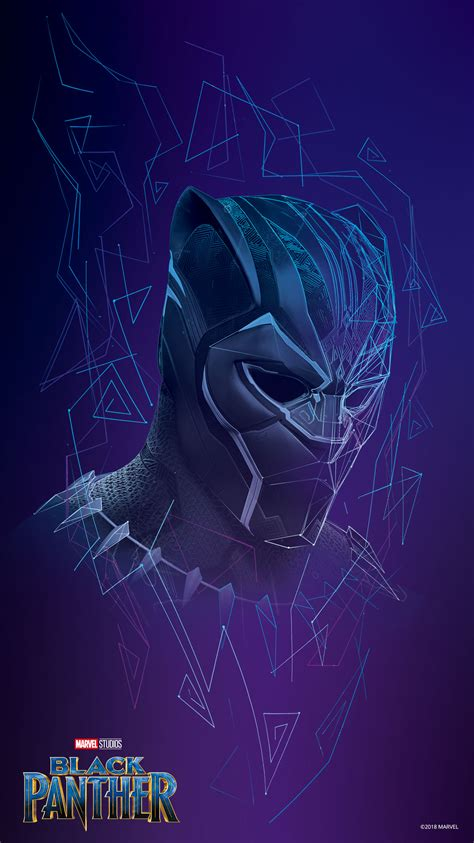Keep it slick with these Black Panther mobile wallpapers