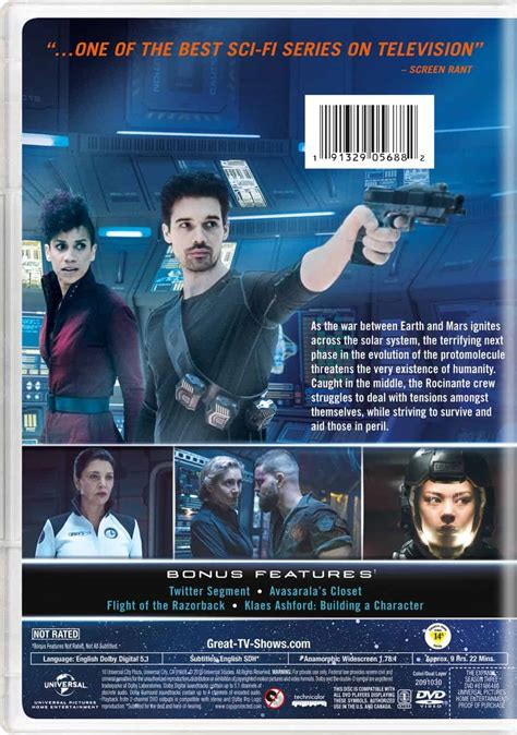 THE EXPANSE Season 3 Blu-ray And DVD Release Details | SEAT42F