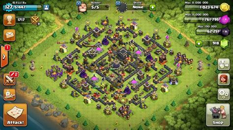 Th9 max base   Clash of clans, Clash of clans hack, Clash