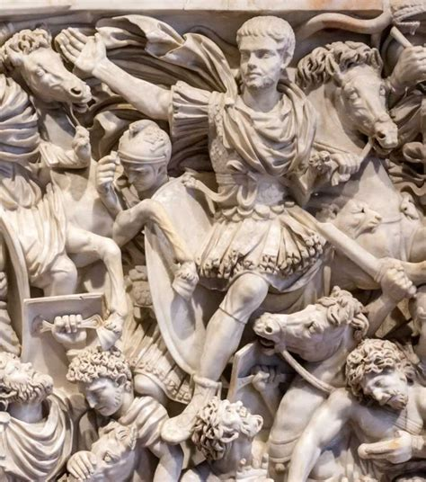 Ludovisi Battle Sarcophagus - How To Find This Roman