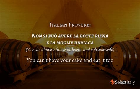 Top Italian Proverbs About Wine | Espresso by Select Italy
