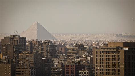 The Pyramids of Giza Are Near a Pizza Hut, and Other Sites