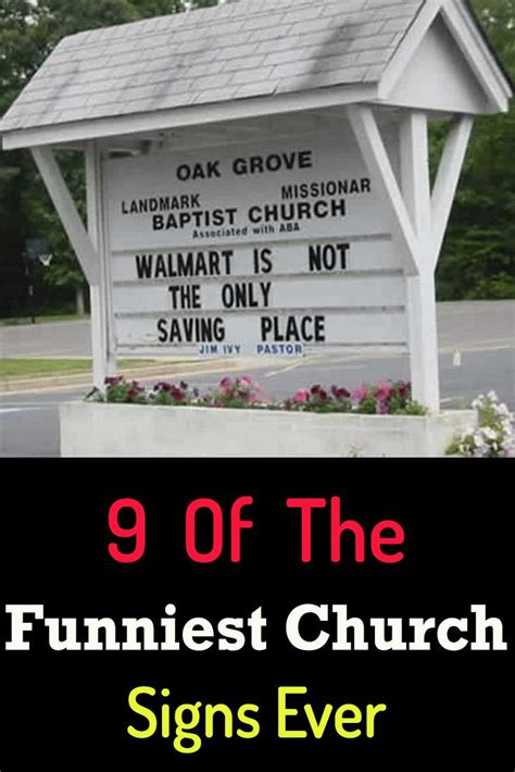 9 Of The Funniest Church Signs Ever   Church signs, Funny