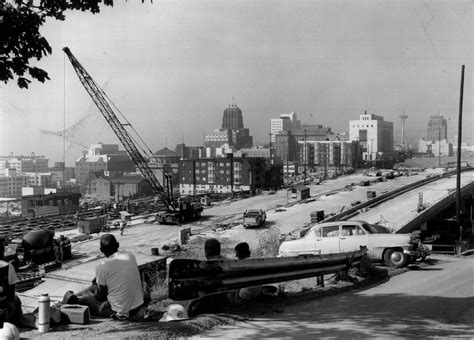 These 7 photos reveal how I-5 construction tore through