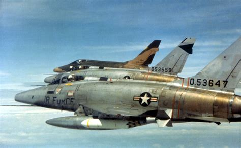 North American F-100 Super Sabres of the 27th Tactical