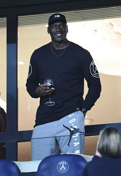 Michael Jordan Attends PSG Victory Over Reims - SoccerBible