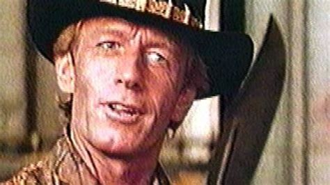 Dundee movie: 'I watched Crocodile Dundee for the first time'
