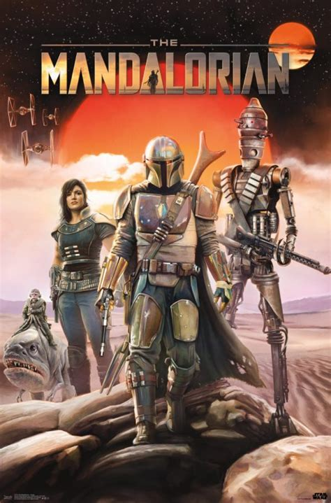'The Mandalorian' Gets Two New Posters!! Check It Out