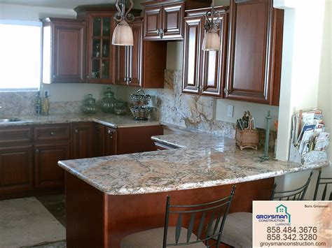 Cherry Cabinets with Granite CountertopZeus - Remodeling
