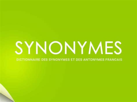 4 Easy-to-use French Synonym Resources for a Vibrant