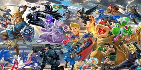 The Whole Roster Is Coming Back for Super Smash Bros