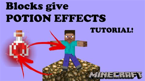 Blocks Give Potion Effects? I can do that! - Minecraft