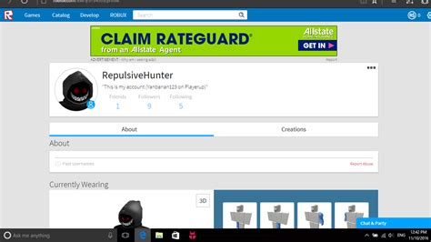 Selling - Roblox 09' Account With Limiteds! $3   PlayerUp