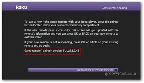 How To Pair the Roku 2 XS Controller to Play Games