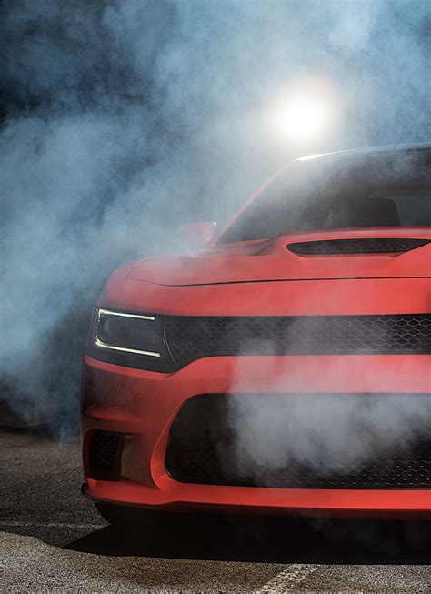 A Super Sexy Dodge Charger Hellcat Photo Shoot