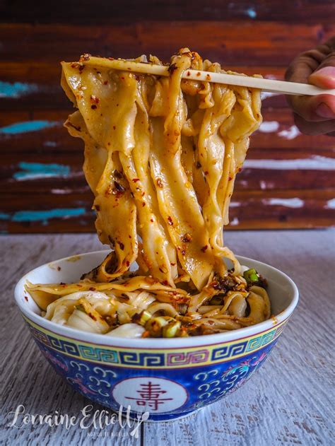 Biang Biang Noodle recipe authentic @ Not Quite Nigella