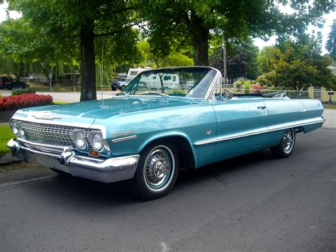 1963 Impala By The Numbers