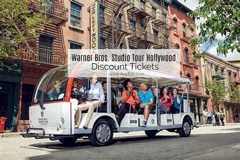 Warner Brothers Studio Tour Discount - Any Tots