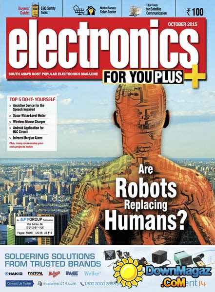 Electronics For You IN - October 2015 » Download PDF