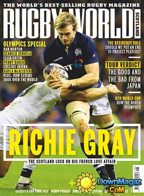 Rugby World UK - August 2016 » Download PDF magazines