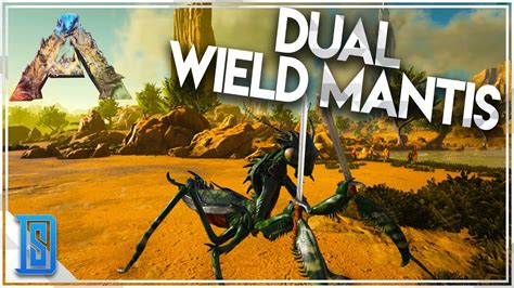 Ark:Survival Evolved -PLAY AS A DINO!- MANTICORE/DUAL