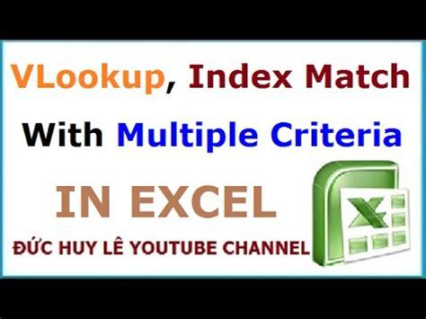 Vlookup two criteria excel - perform your table lookups
