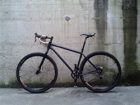 Mountain Bike to Drop bar bike for gravel and two track