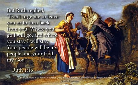 """Ruth 1:16 """"Where you go I will go"""": Translation, Meaning"""
