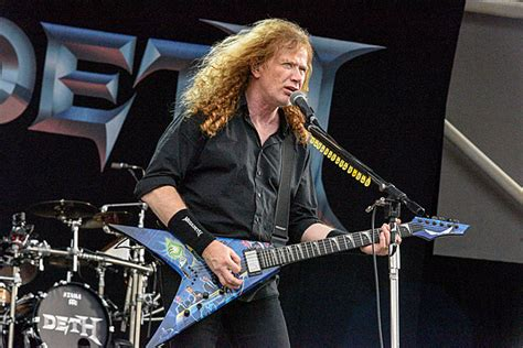Dave Mustaine: Megadeth are 'Working on Wrapping Up' Next