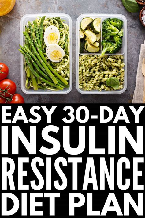 30-Day Insulin Resistance Diet Plan | If you're looking