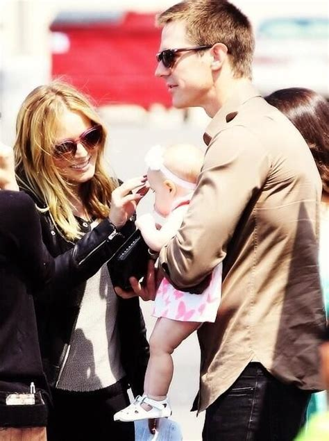 Kristen Bell and Jason Dohring with his daughter, Lilly