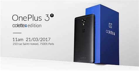 OnePlus 3T Colette Edition Comes to Paris for €479 - GoAndroid