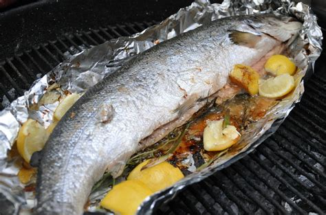 Fire and Food: Whole Salmon Baked in the Weber