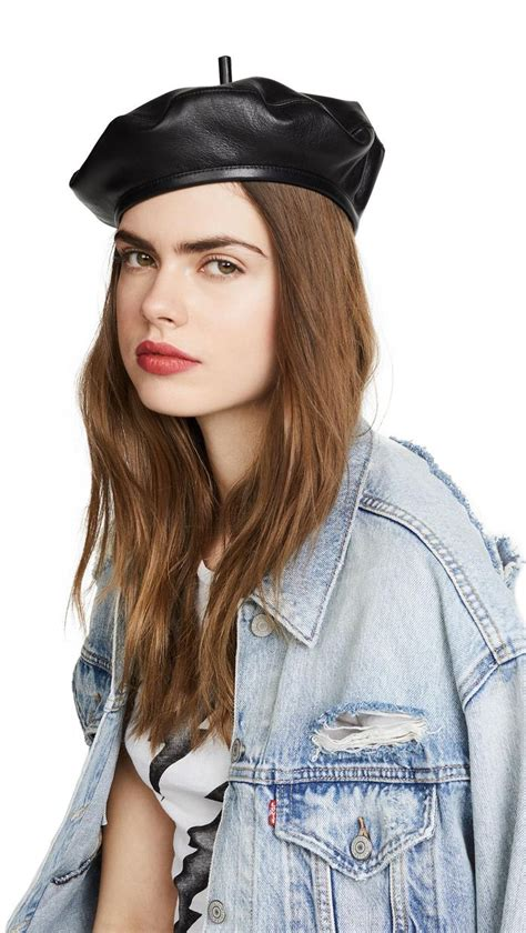 How to Wear a Beret Like a Fashion Girl   Who What Wear