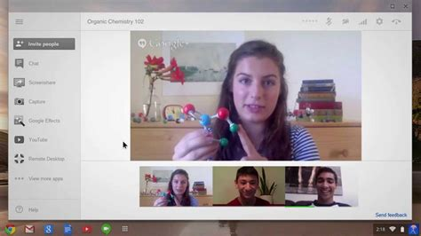 Chromebook: Video Chat with Google+ Hangouts - YouTube