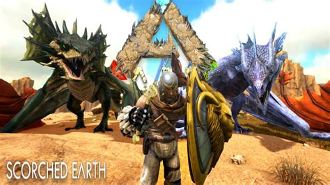 ARK: Scorched Earth - ALL NEW CREATURES! Wyvern, Manticore