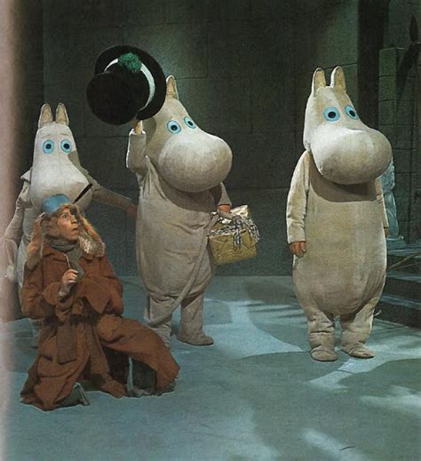Mumintrollet (Moomintroll) tv-series from the 1969 - Moomin