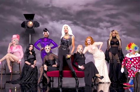 SURGED: The queens of RuPaul's Drag Race season 8 pose