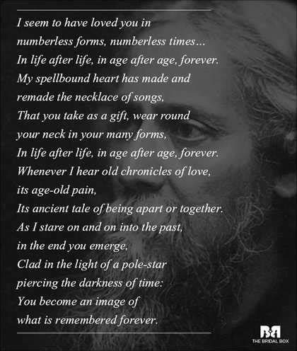 10 Rabindranath Tagore Love Poems That Capture The Essense