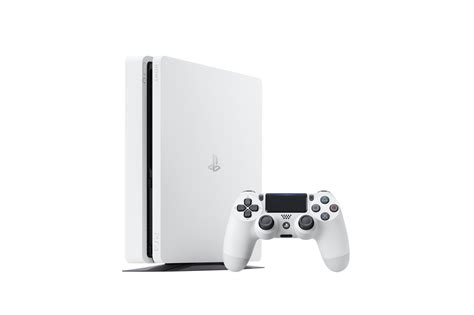 White PS4 Slim announced by Sony for January release
