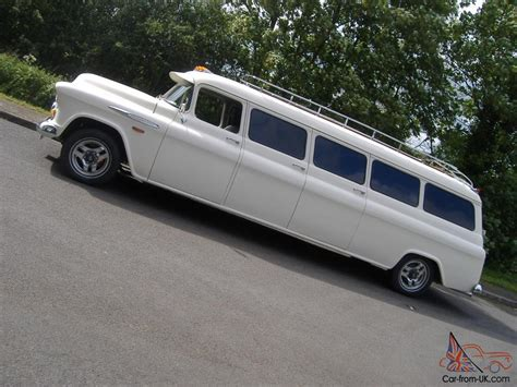 1957 (Chevy) Chevrolet Suburban Limo Limousine streched