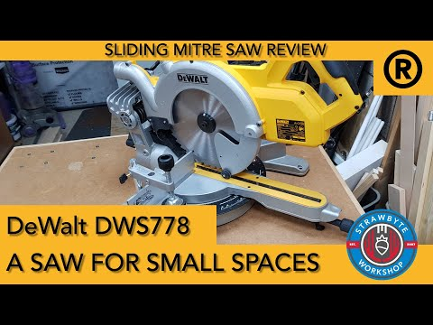 DeWalt DW700 240v Cross-Cut Mitre Saw with Leg Stands and