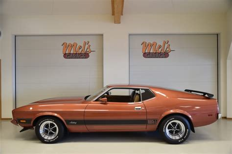Ford Mustang Mach 1 1973 | Mel's Garage – Classic Cars