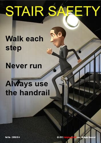 Stair Safety Posters – safetyImages365