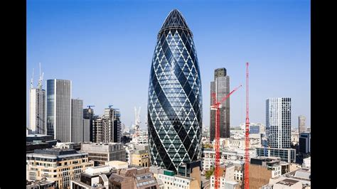 Facts About Gherkin Tower (30 St Mary Axe) in London - YouTube