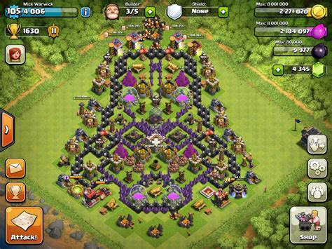Clash of Clans Town Hall Level 7   Clash of clans, Clash
