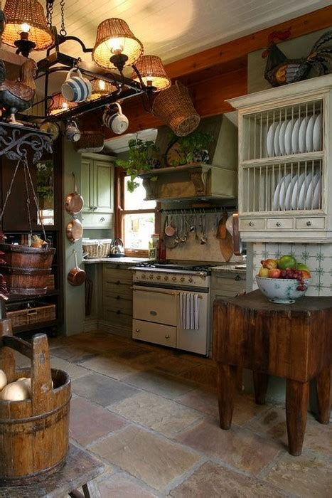 25 Whimsy Bohemian Kitchens - MessageNote